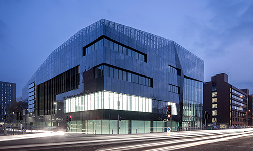 The National Graphene Institute building